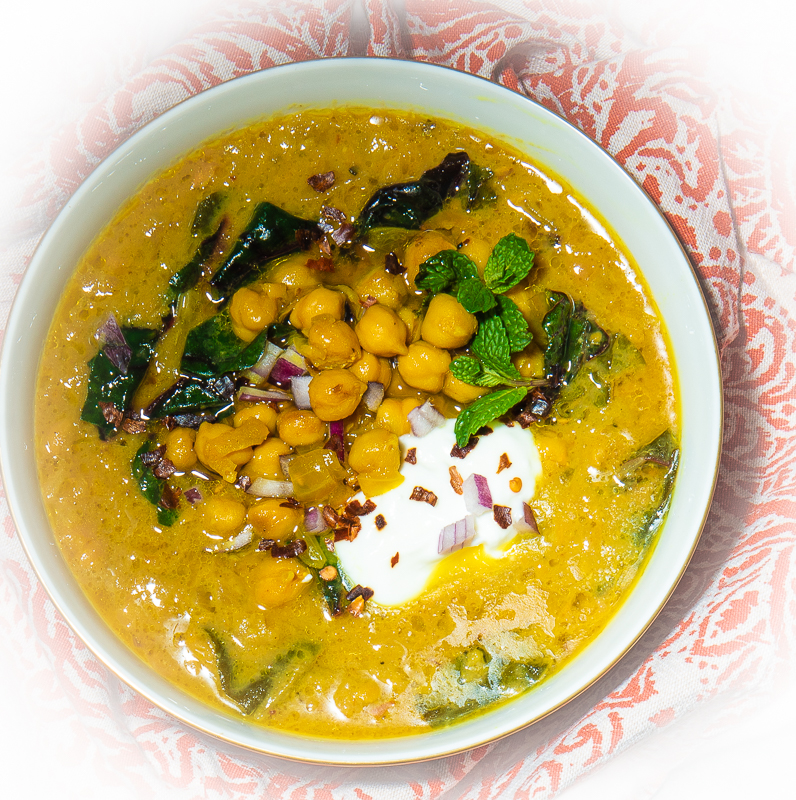 A Signature Dish: Spiced Chickpea Stew With Coconut and Turmeric