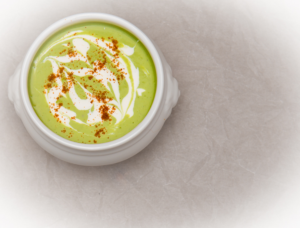 Fit for a King: Fresh Pea Soup
