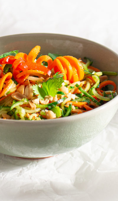 Gadget Madness: Spiralized Vietnamese Cucumber Salad