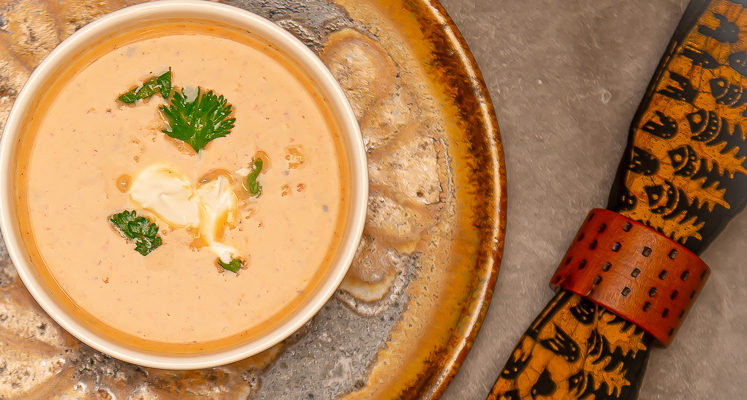 Anxiety Eating Antidote: Spicy Cauliflower and Potato Soup