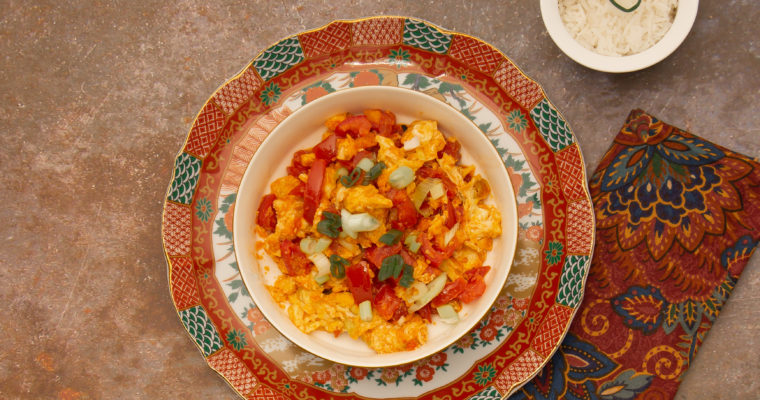 WOW!  Chinese Stir-Fried Tomatoes and Eggs