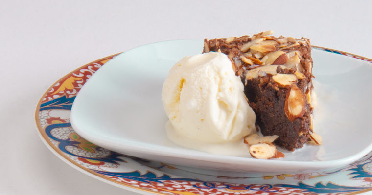 A Party On Your Plate: Chocolate and Almond Torte